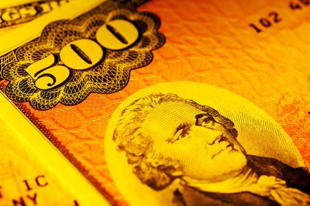 500 Dollar Series E Bond Stok Fotoğraf