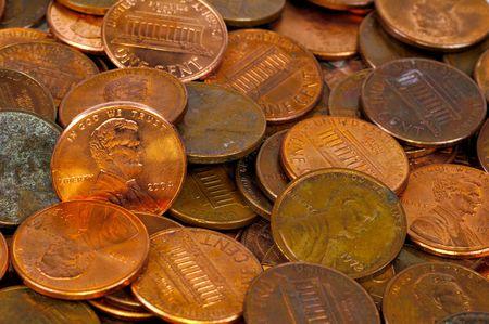 pennies: Photo of Pennies