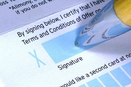 Penna e del documento