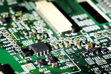 Photo of a Circuit Board Фото со стока