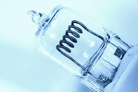 600 Watt Studio Lightbulb Banco de Imagens