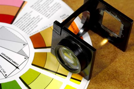 Loupe and Color Wheel