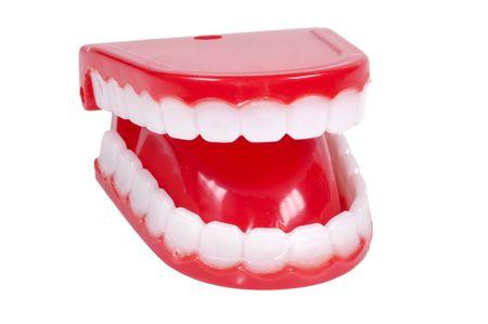 the novelty: Isolated Novelty Teeth