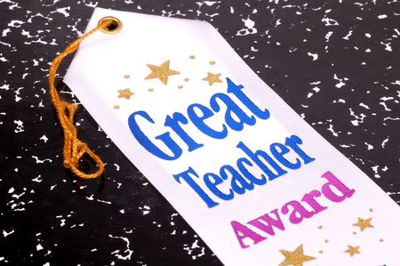 Photo of a Great Teacher Award