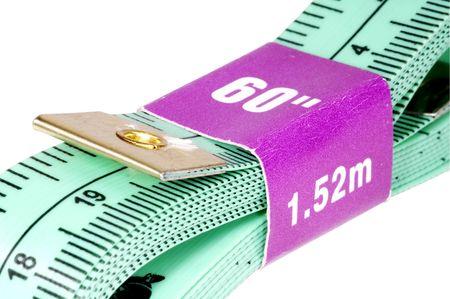 Isolated Tape Measure 版權商用圖片