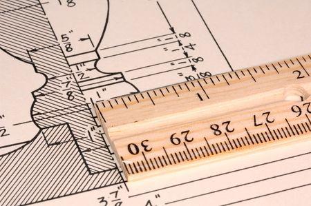 Woodworking Diagram 版權商用圖片
