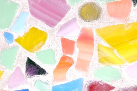 Abstract Ceramic and Plaster Background