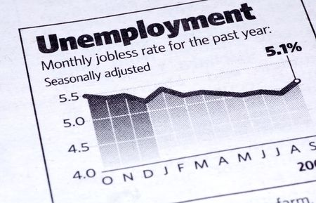 Unemployment Clipping Stock Photo