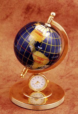 Photo of a Miniature Globe