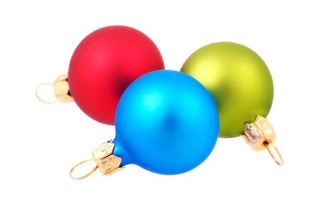 Red, Green and Blue Ornaments