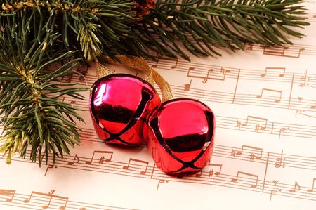 Christmas Bells and Sheet Music
