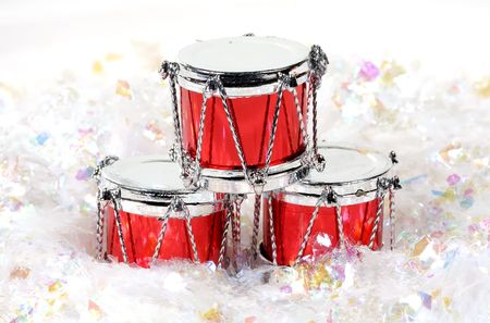 Christmas Drums and Fake SNow