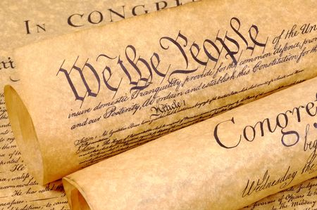 Declaration of Independence Rolled Up Stock Photo - 268982