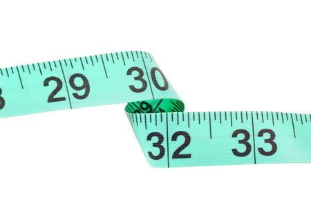 Isolated Tape Measure - Clipping Path