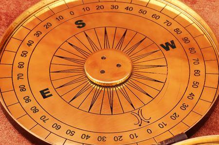 sonnenuhr: Sonnenuhr Kompass