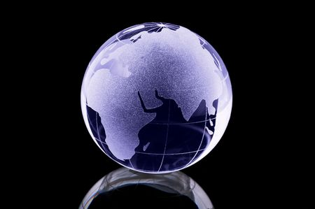 Photo of a Glass Globe