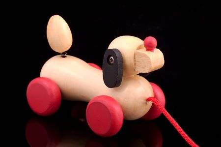 tog: Photo of a Wooden Toy Tog