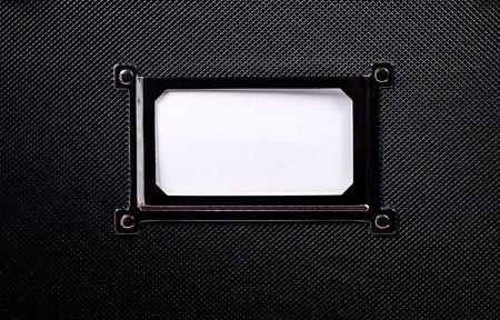 Blank Cabinet Label Zdjęcie Seryjne - 285865