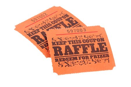 sequential: Photo of Raffle Tickets Stock Photo