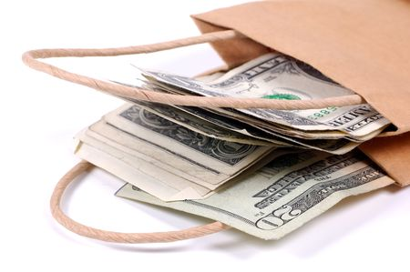 loot: Paper Bag With Money