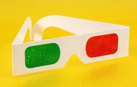 Photo of 3D Glasses Stok Fotoğraf