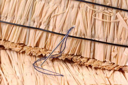 Foto de una aguja en un haystack Foto de archivo - 297606