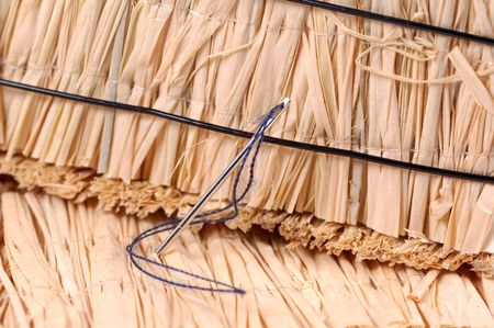 Photo of a Needle in a Haystack Imagens - 297606