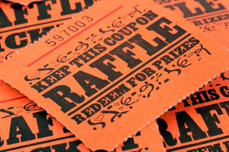 Photo of Raffle Tickets Reklamní fotografie