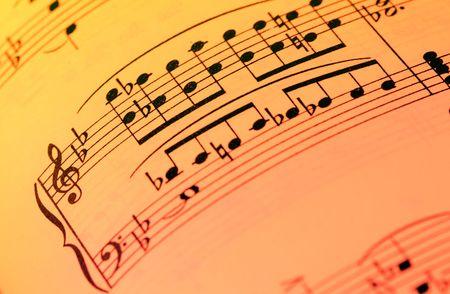letras musicales: Notas