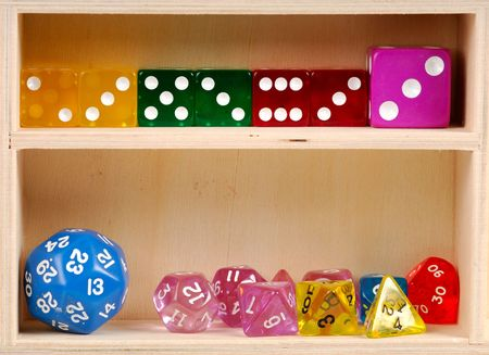 Various Types of Dice Stock Photo - 299460