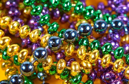Mardi Gra Beads photo