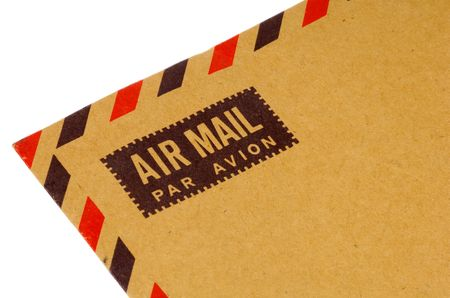 Air Mail-envelop Stockfoto