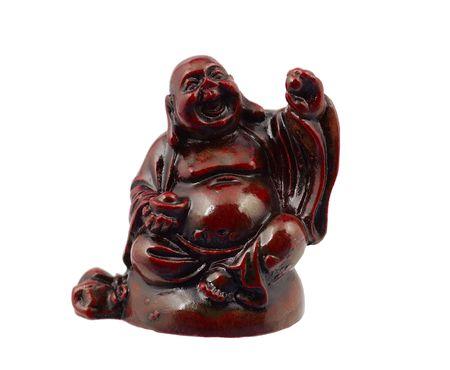 Foto van een Budha Stockfoto