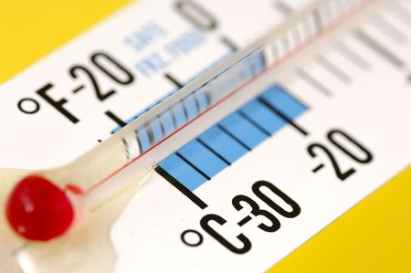 Photo of a Thermometer Banco de Imagens