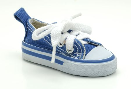 Photo of a Blue Sneaker