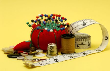 needle and thread: Various Sewing Related Items