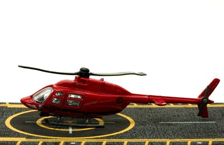 Photo of a Toy Helicopter