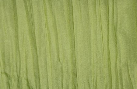 Green Fabric Background