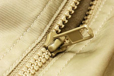 Photo of a Zipper Imagens