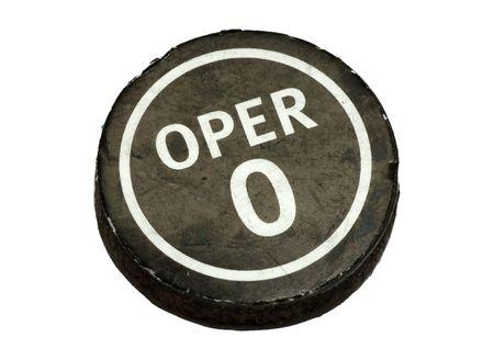 Opérateur Button Banque d'images - 363526
