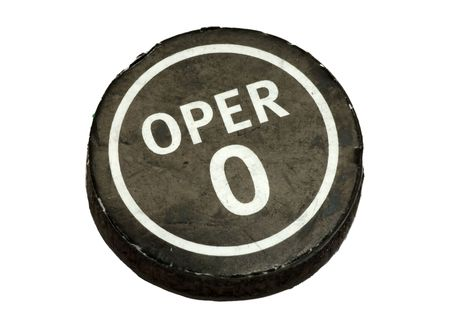 Operator Button Reklamní fotografie
