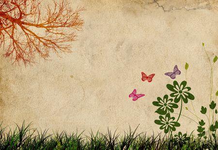 Abstract Spring Background Фото со стока