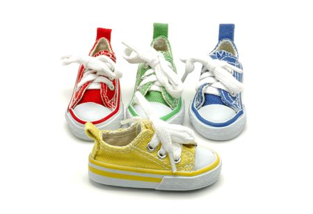 Various Color Sneakers