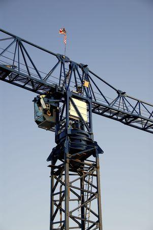 Bouw Crane Stockfoto - 386912