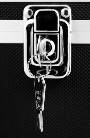 Photo of a Lock and Keys