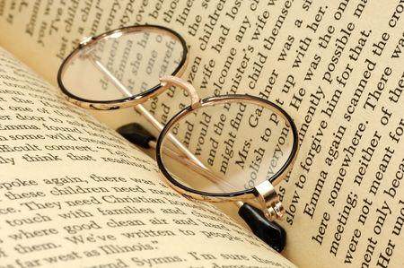Eyeglasses in a Book
