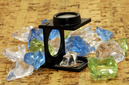 appraise: Loupe and Crystal, Stones