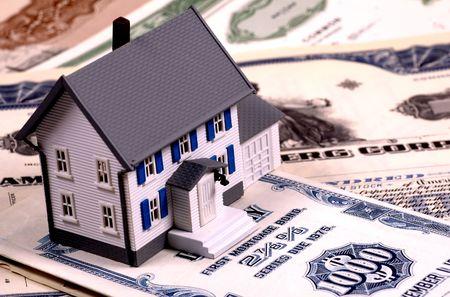 Home Mortgage Concept Stok Fotoğraf