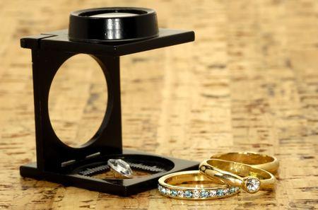 Jewelry Appraisal Concept
