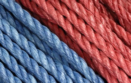 Red and Blue Rope Background Stock Photo - 448283